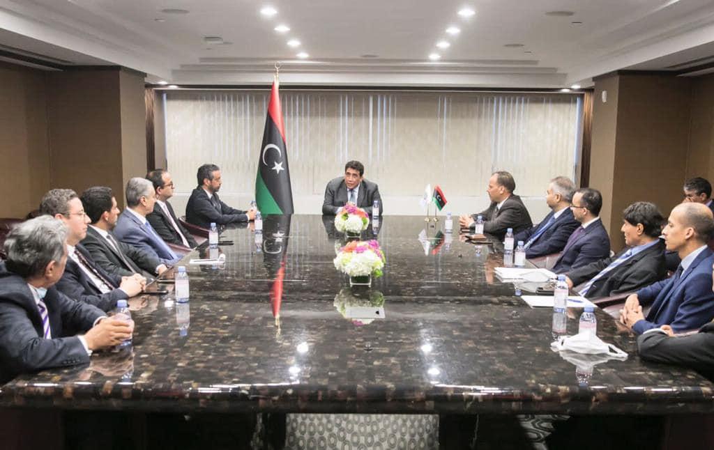 «المنفي» يُتابع عمل البعثة الليبية بالأمم المتحدة