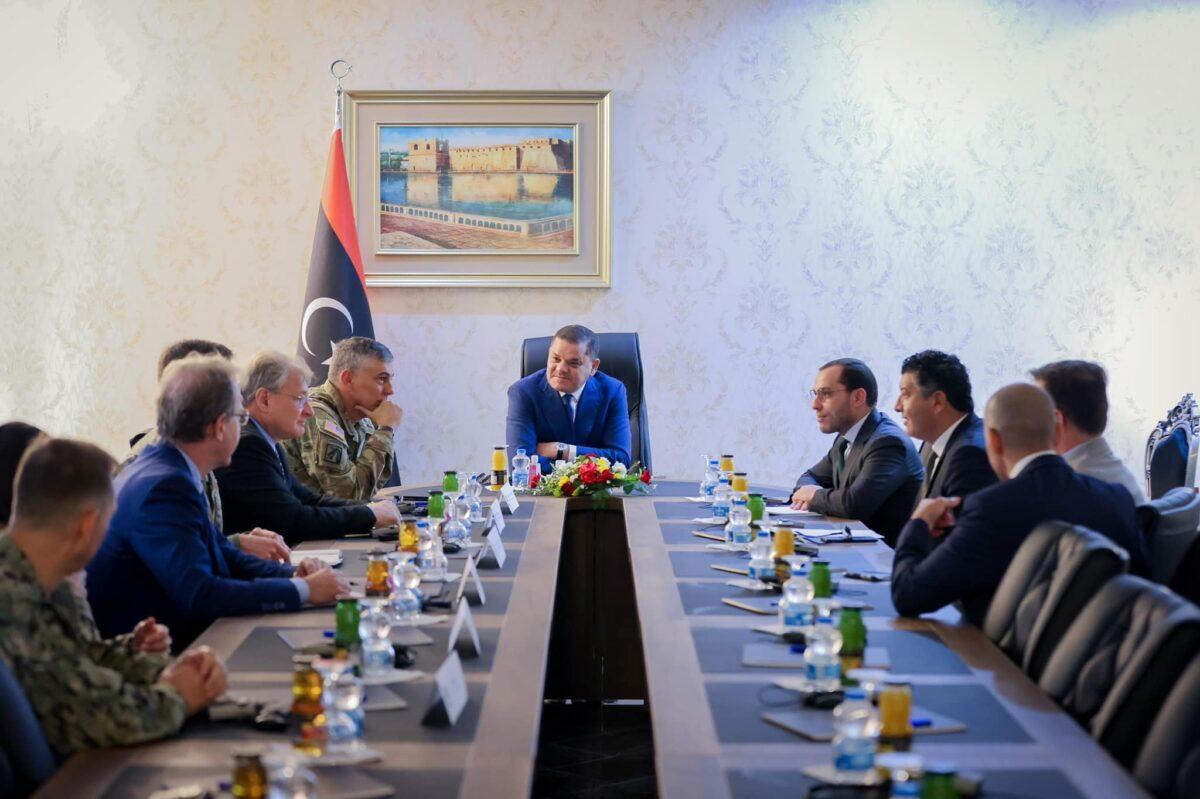 اتفاق ليبي أمريكي على مواصلة التعاون الإستراتيجي المشترك