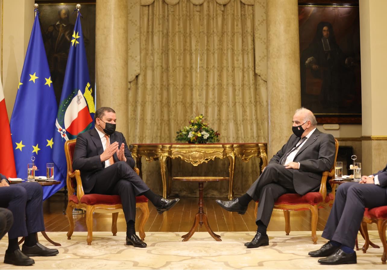 رئيس الحكومة يلتقي رئيس جمهورية مالطا