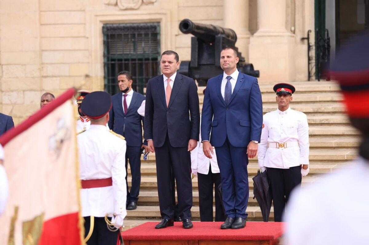 رئيس حكومة الوحدة الوطنية يلتقي نظيره المالطي