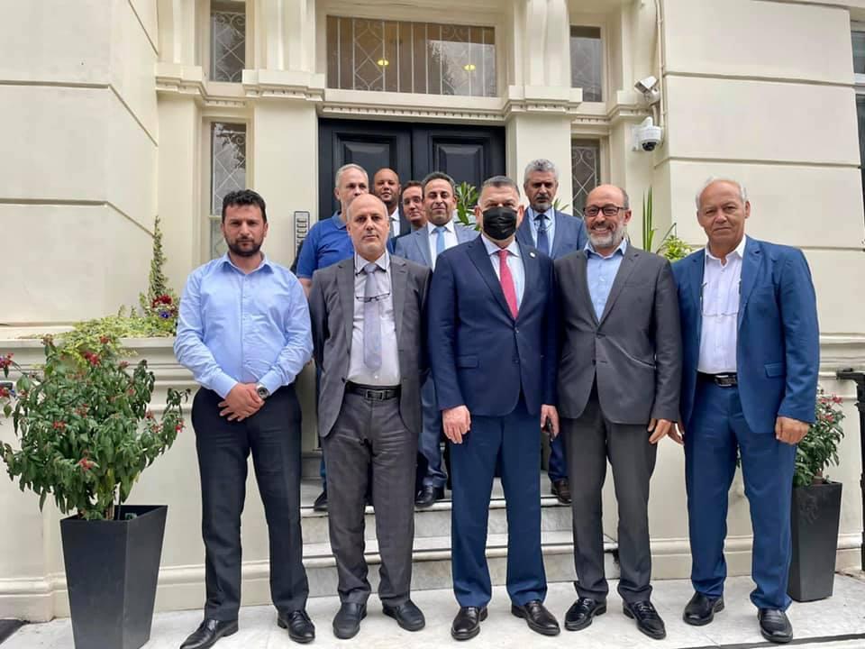 وزير الداخلية يدعو لتقديم أفضل الخدمات للجالية الليبية في لندن