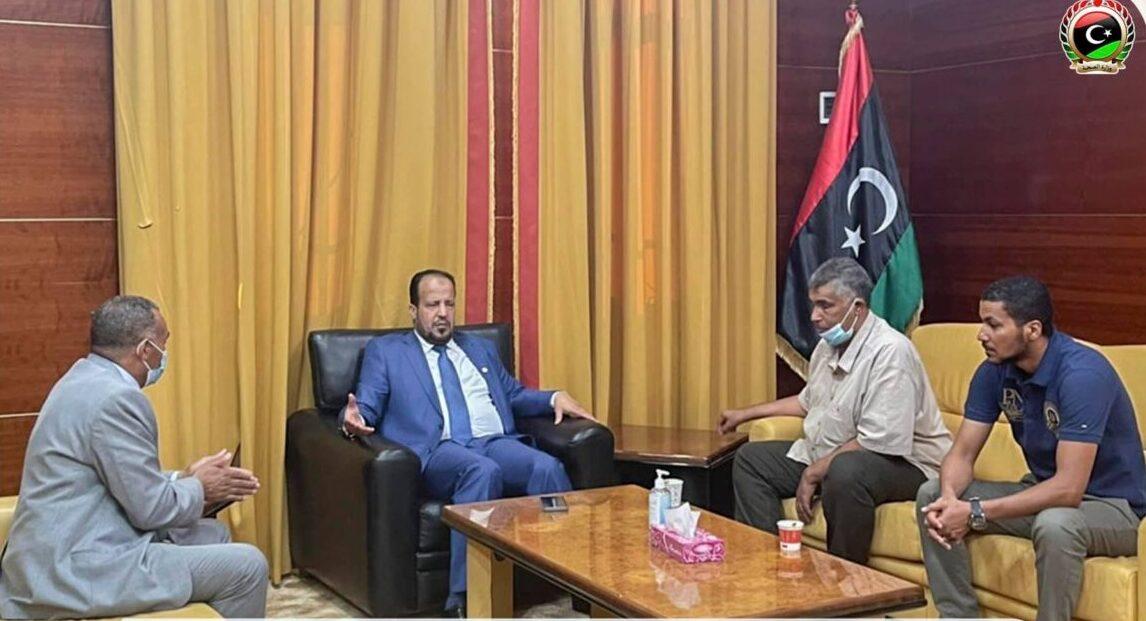 وزير الصحة يبحث الوضع الصحي في مدينة ودان