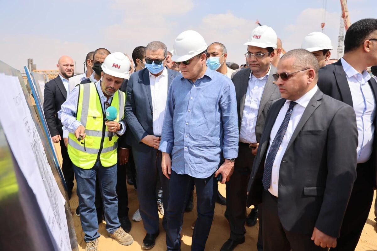 «الدبيبة» يتفقد مشاريع مجمعات العاصمة الإدارية بالقاهرة