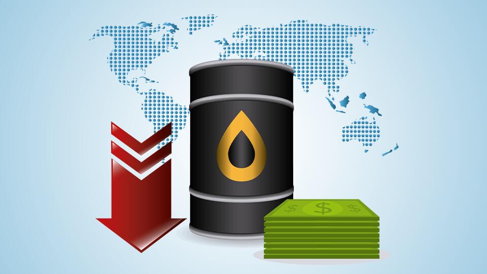 أسعار النفط تنخفض مع ارتفاع المخزونات الأمريكية
