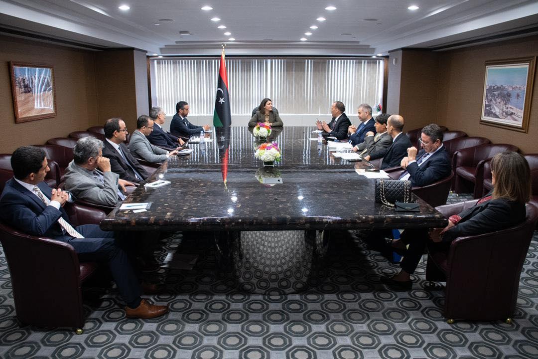 «المنقوش» تُتابع عمل البعثة الليبية لدى الأمم المتحدة