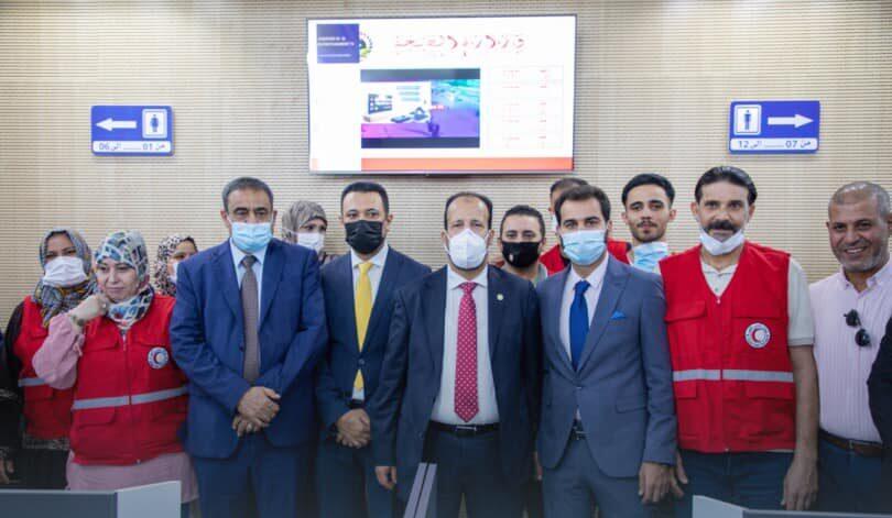 افتتاح مركز التطعيمات الثالث على مستوى ليبيا في مصراتة
