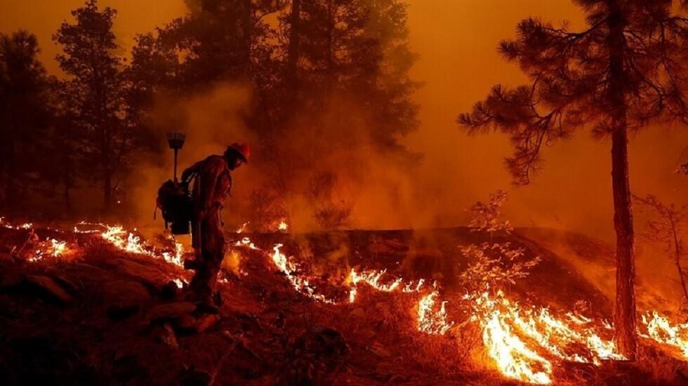 إعلان حالة الطوارئ في كاليفورنيا الأمريكية بسبب الحرائق