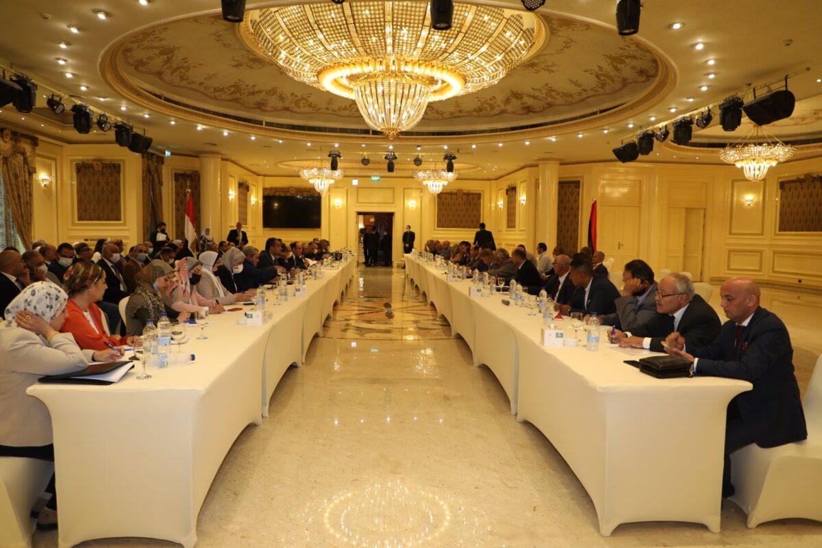 لقاءات تحضيرية لاجتماعات اللجنة العليا الليبية المصرية