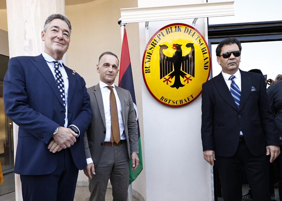 إعادة افتتاح السفارة الألمانية في طرابلس