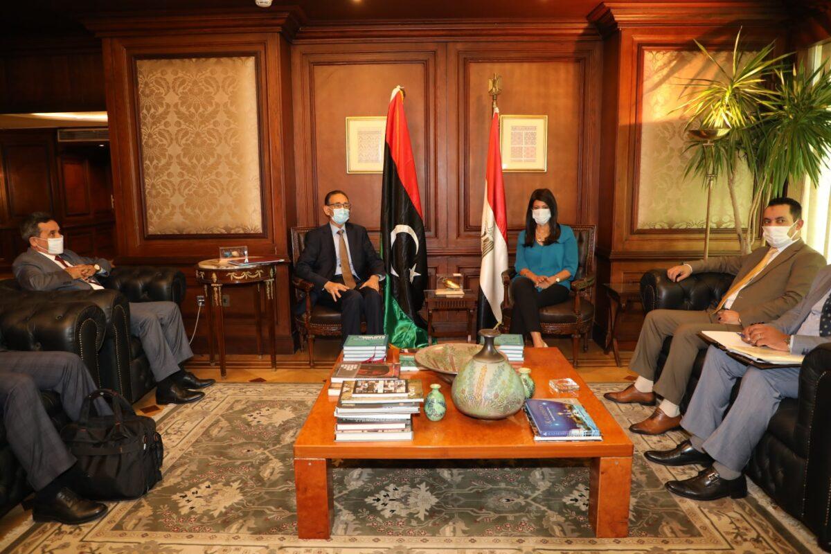 «الحويج» يبحث ترتيبات انعقاد اللجنة العليا الليبية المصرية