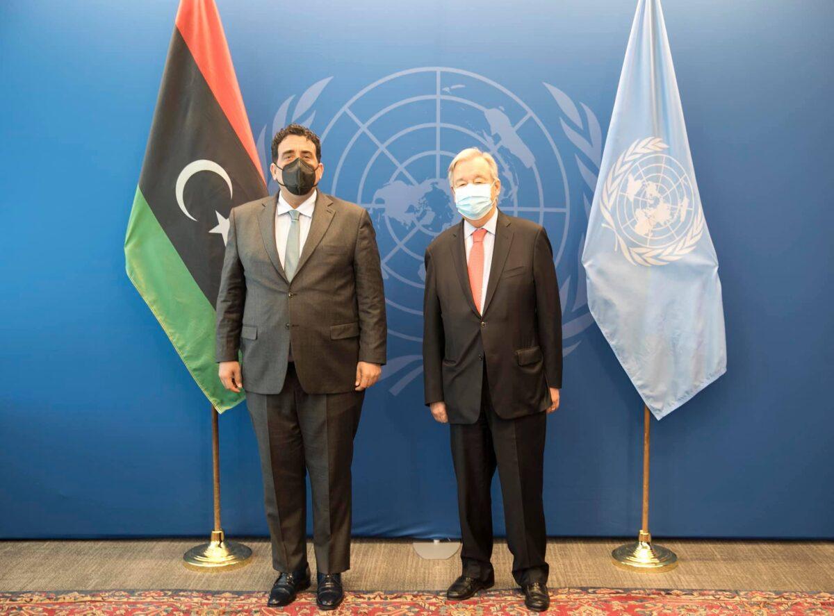 «غوتيريش» يُؤكد على ضرورة إجراء الانتخابات الليبية في موعدها