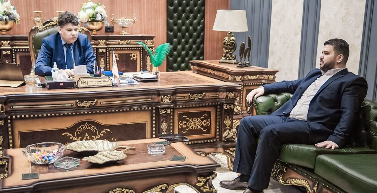 النائب العام يستعرض مع «فرج قعيم» الأوضاع الأمنية بالمنطقة الشرقية