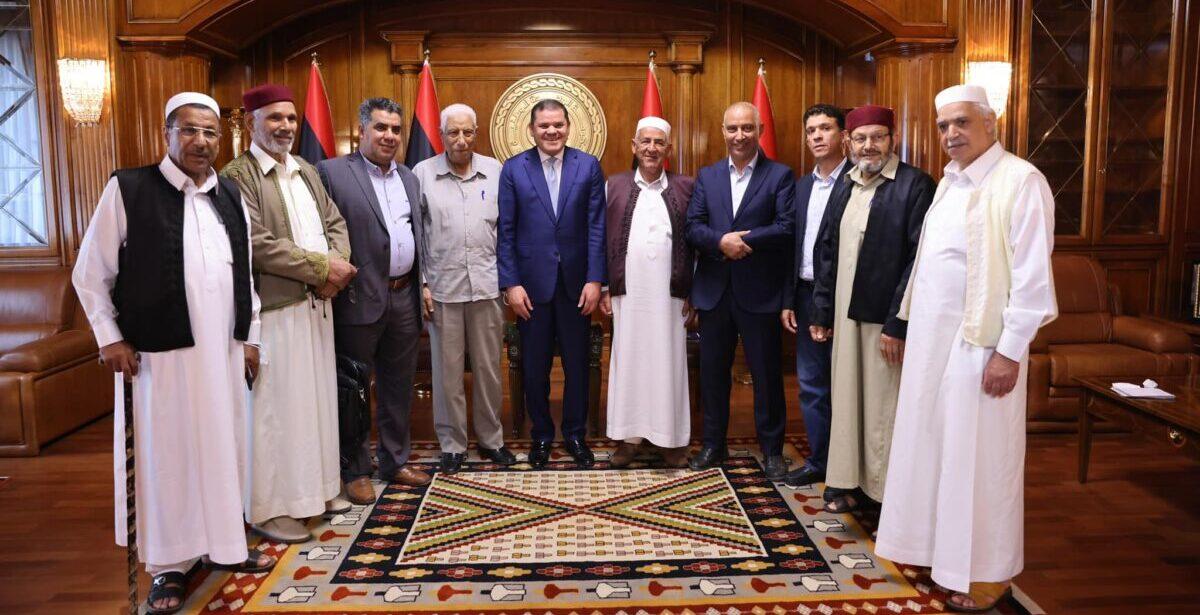 هيئة أعيان ومشايخ برقة تُؤكد دعمها لحكومة الوحدة الوطنية
