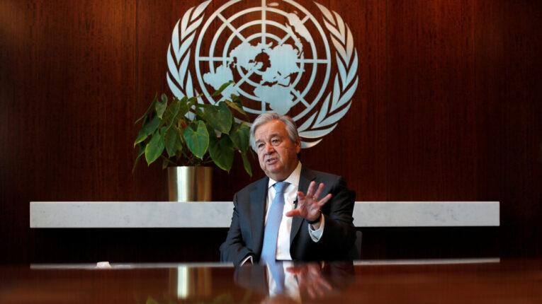 «غوتيريش» يدعو إلى وضع مصالح الشعب الليبي في المقام الأول