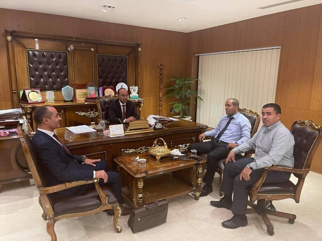 بلدية بنغازي تبحث التعاون مع المجلس الاقتصادي الليبي التونسي