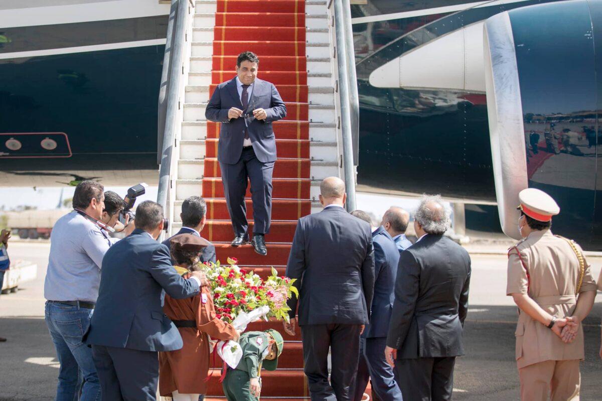 رئيس المجلس الرئاسي يصل طرابلس قادماً من نيويورك