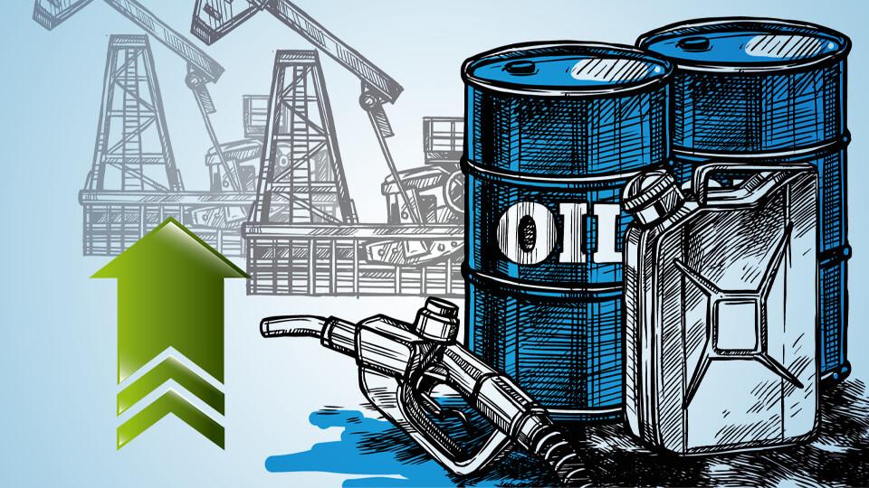 أسعار النفط العالمية ترتفع بزيادة 4.5%