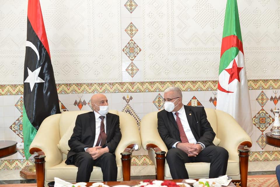 عقيلة صالح: ليبيا تُعول على الجزائر للخروج من أزمتها