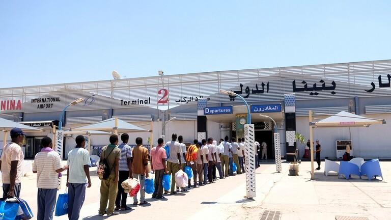 تعليق الرحلات الداخلية بالكامل في مطار بنينا ببنغازي