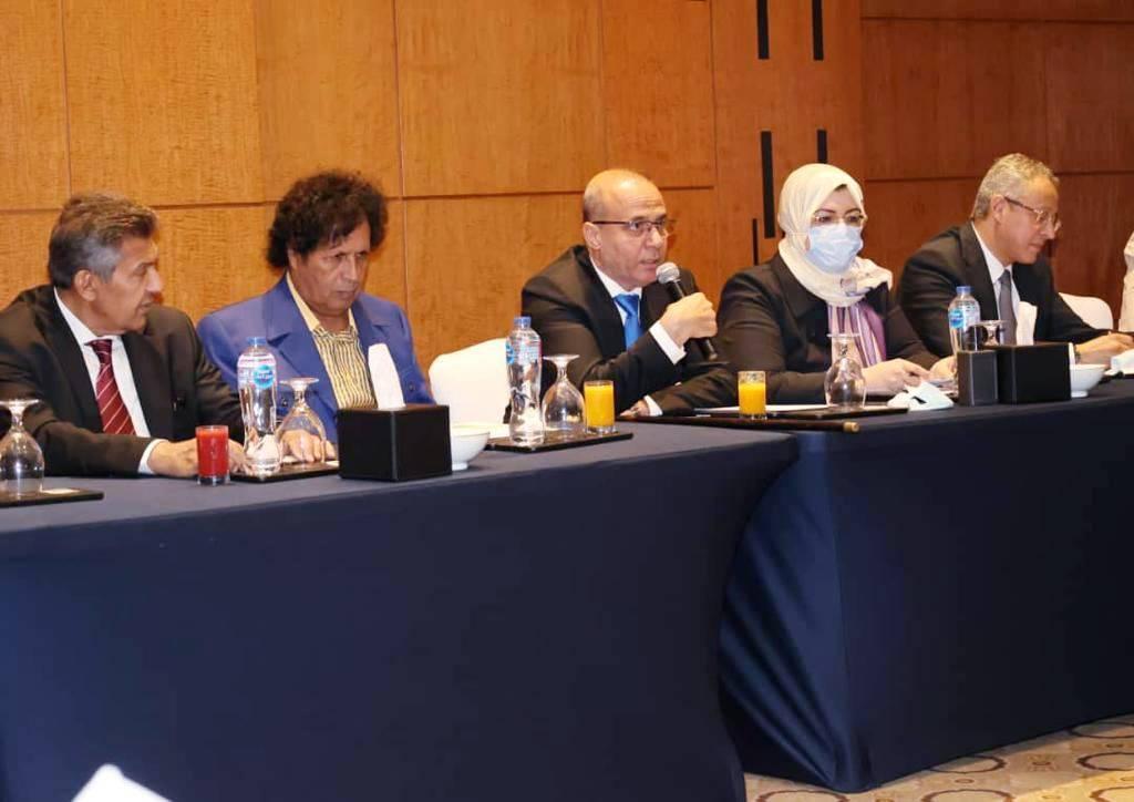 «اللافي» يبحث ملف المصالحة مع الجالية الليبية في القاهرة