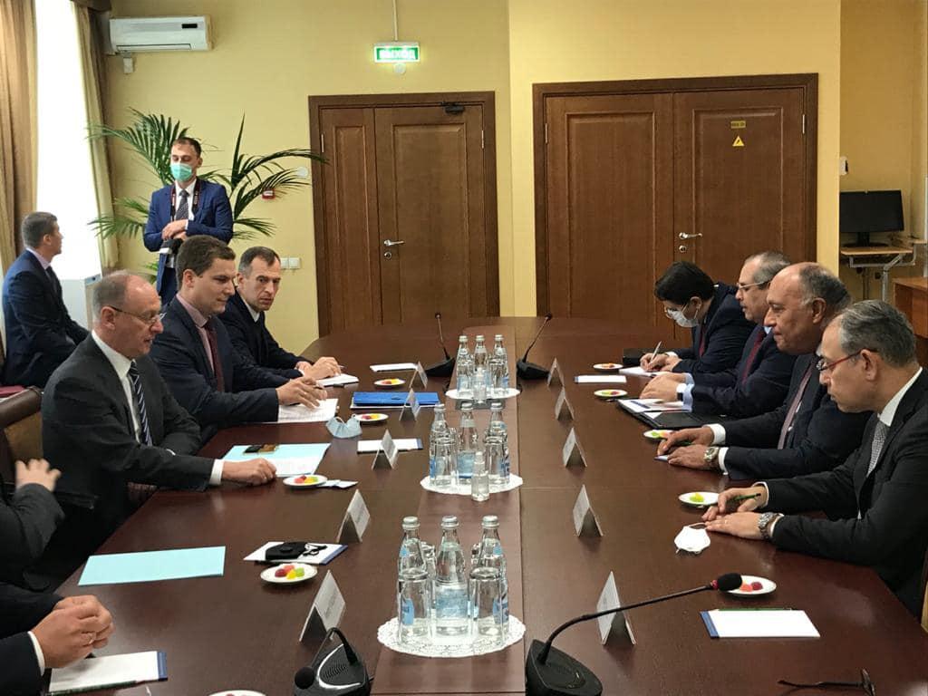 دعم روسي مصري لخارطة الطريق في ليبيا