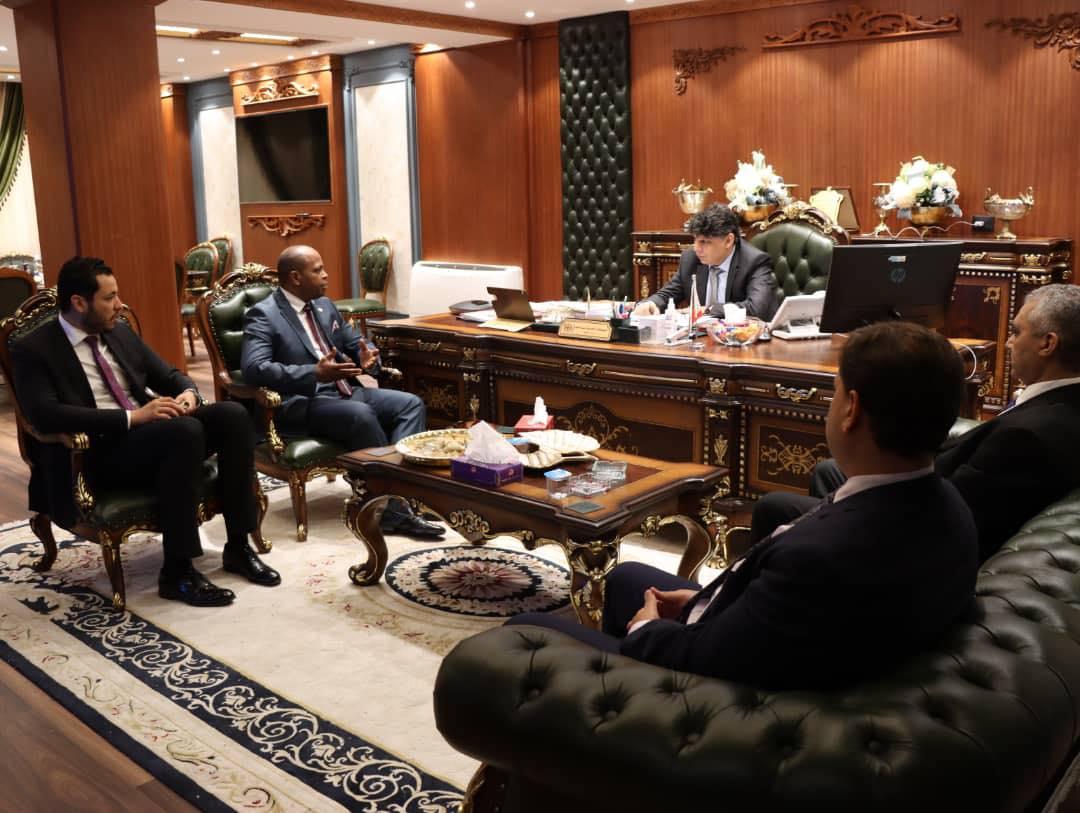 النائب العام يبحث سُبل التعاون القضائي الدولي