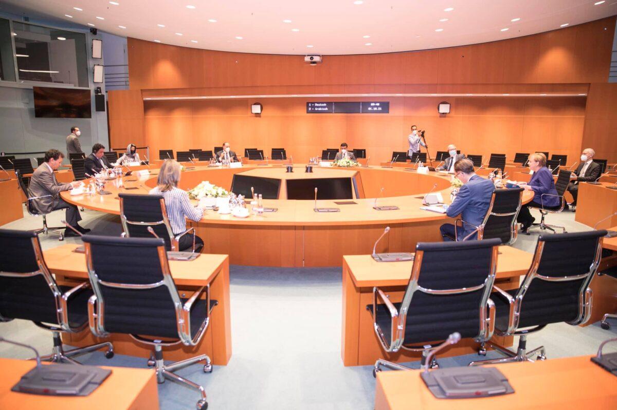 رئيس المجلس الرئاسي يُجري مباحثات في برلين