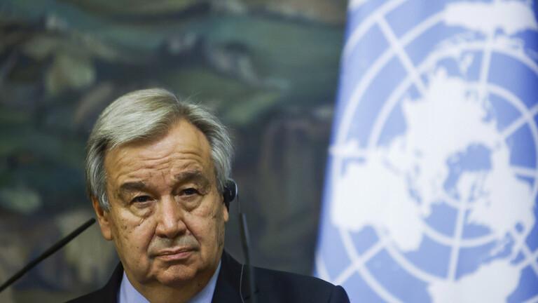 «غوتيريش» يدعو لتنفيذ خطة إخراج المرتزقة من ليبيا