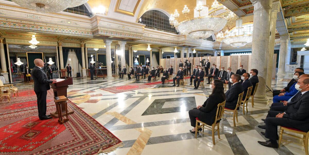 تونس.. الحكومة الجديدة تُؤدي القسم أمام رئيس البلاد