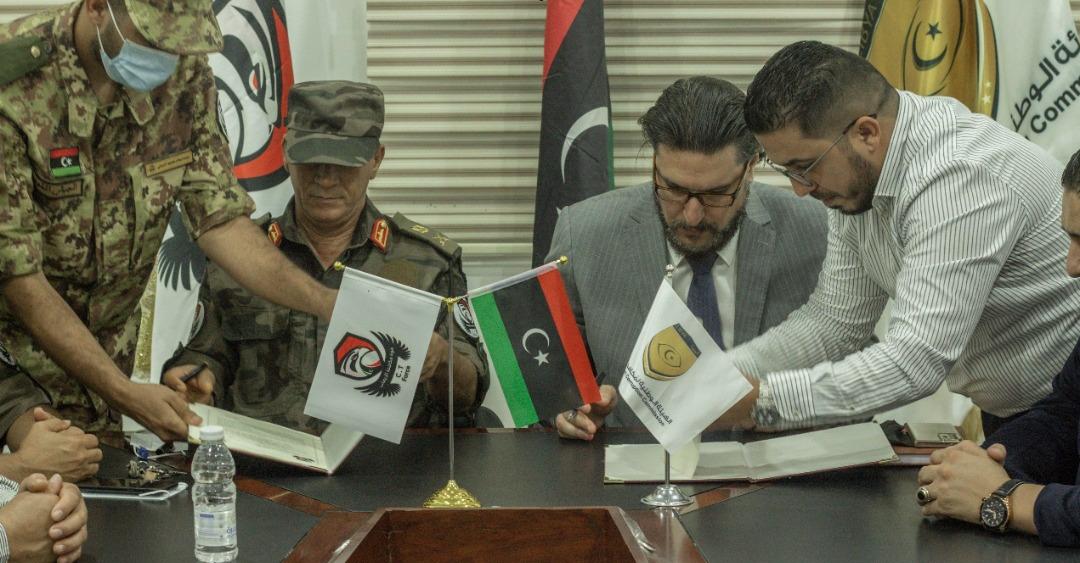 توقيع بروتوكول تعاون بين هيئة مكافحة الفساد وقوة مكافحة الإرهاب
