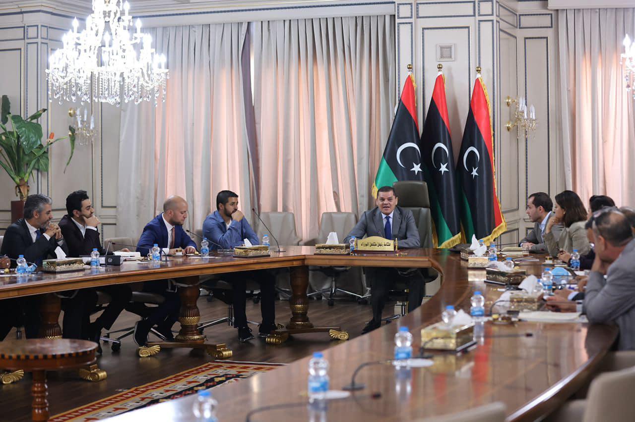 «الدبيبة» يستعرض استعدادات انعقاد مؤتمر استقرار ليبيا
